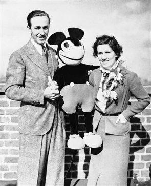 Walt Disney, Lillian Disney