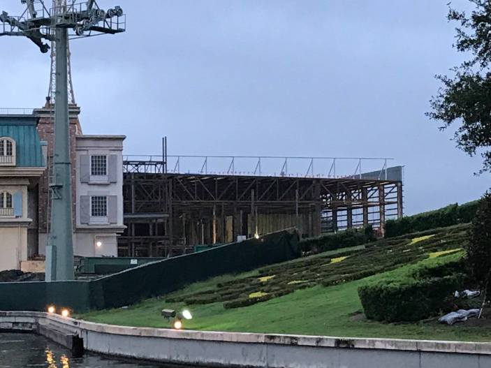 Ratatouille attraction construction